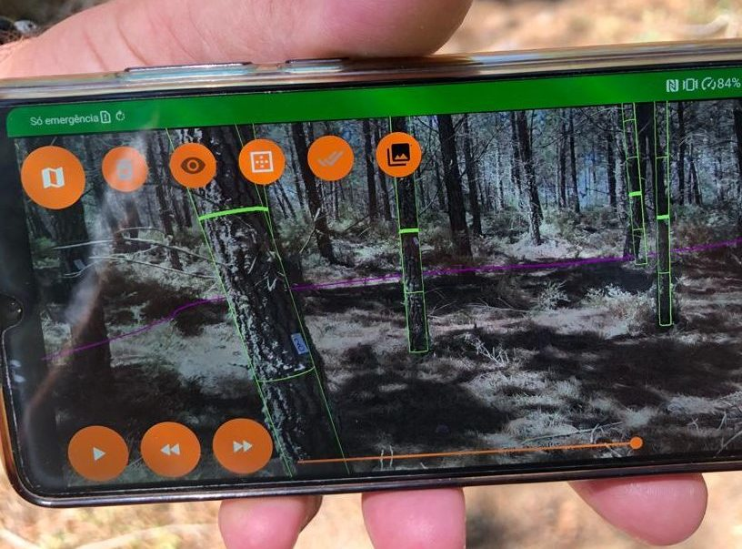 KATAM application to manage forest inventory